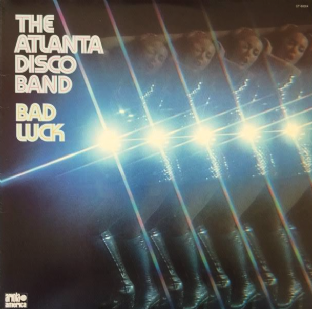 Atlanta Disco Band (The) ‎- Bad Luck (LP) (VG/VG)